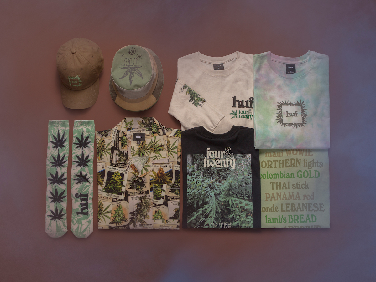 HUF's Annual 420 Collection Is Now Available for Purchase Online