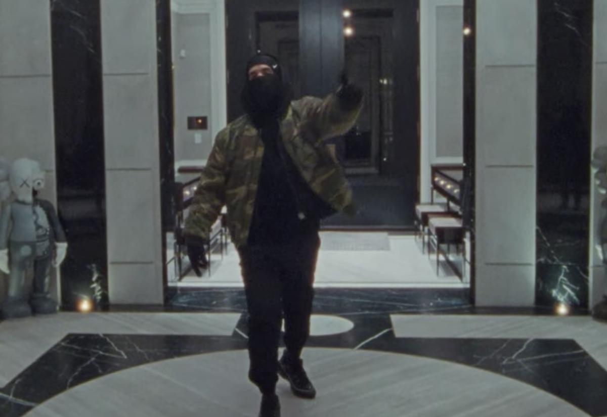 SPOTTED: Drake Films 'Toosie Slide' Video in Raf Simons, Alyx & Nike