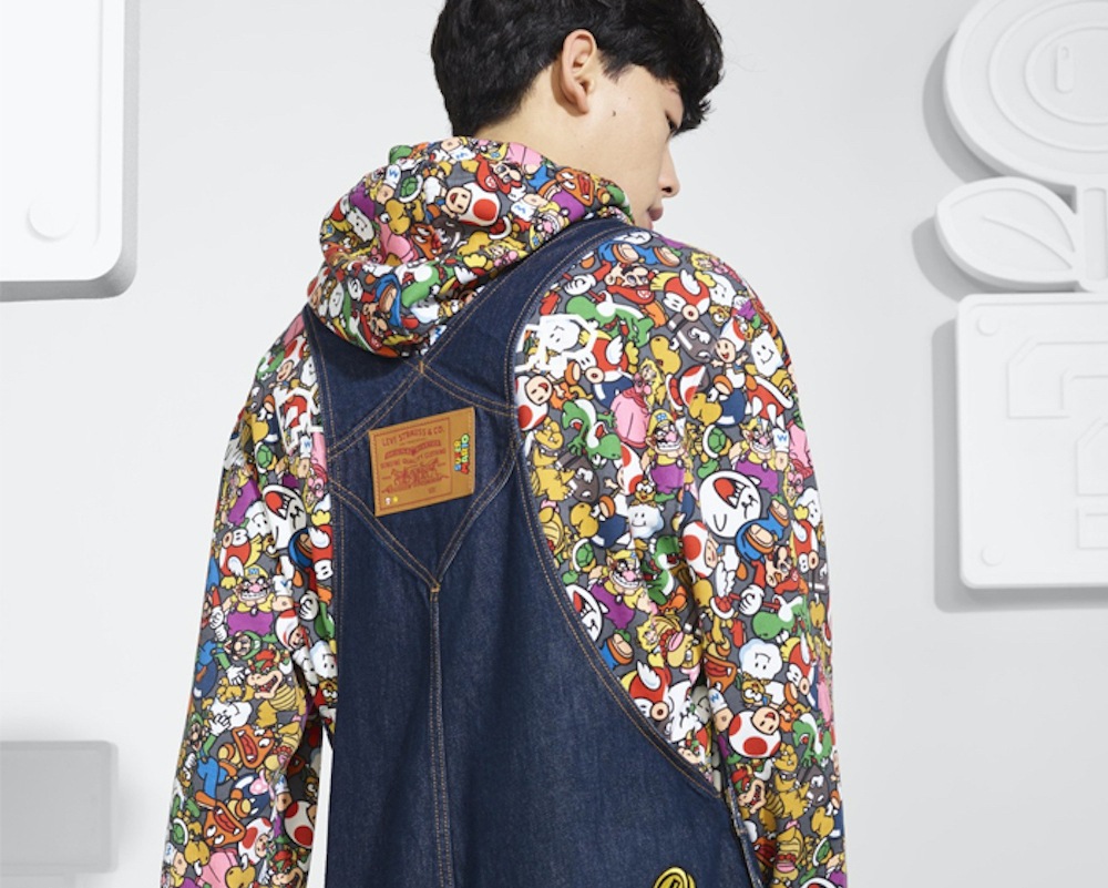 Levi's Team up with Nintendo for Super Mario Themed Collection