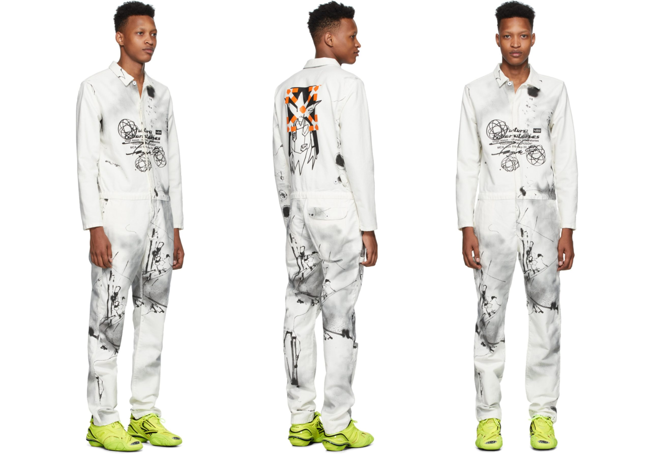 PAUSE or Skip: Off-White x Futura Edtion Boiler Jumpsuit