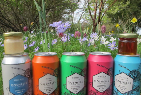 Cans and flowers