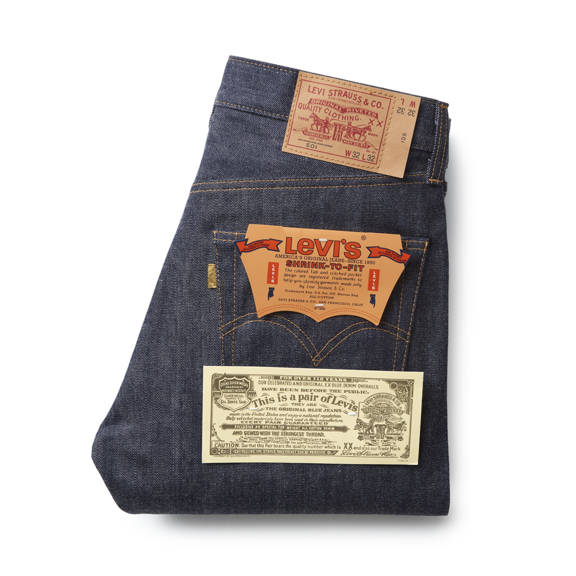 Your next Levis 501 could have a Golden Ticket