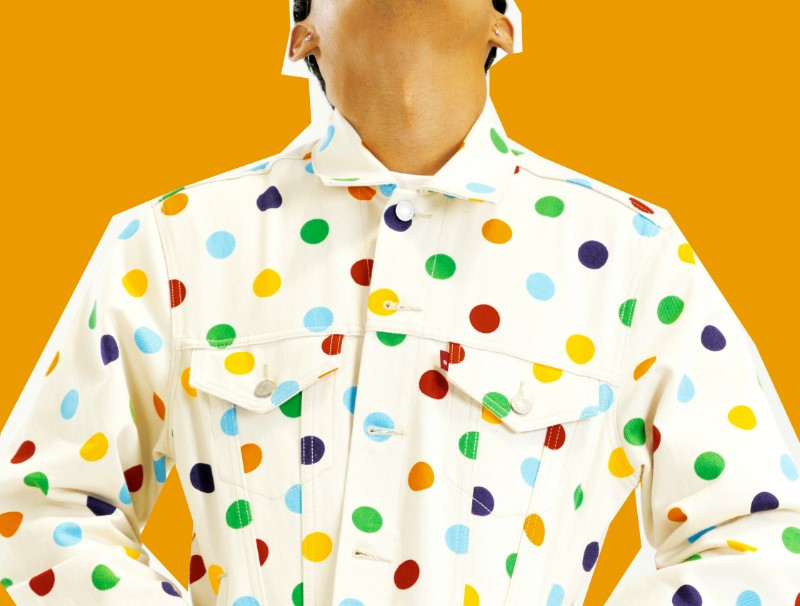 Golf Wang adds its polka-dot design to iconic Levis Garments