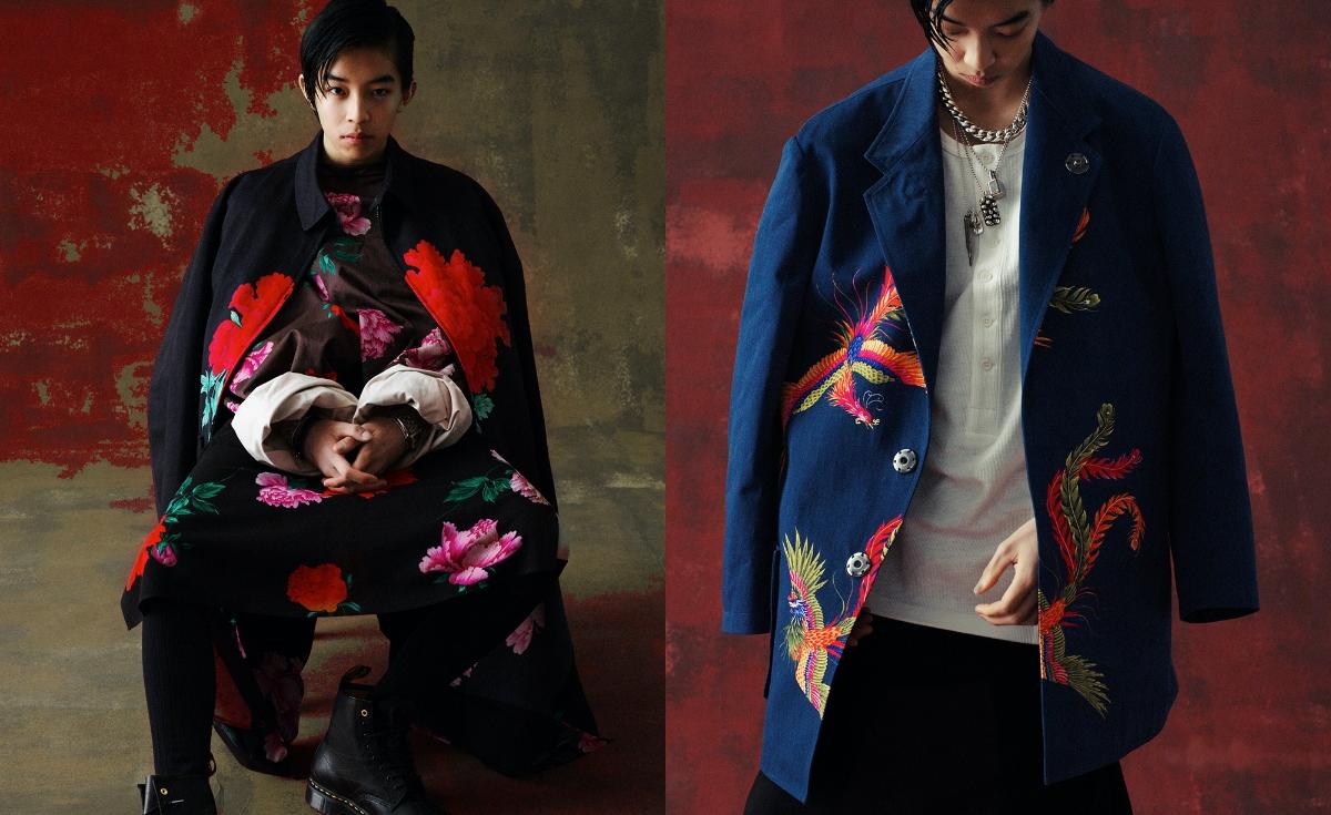 Yohji Yamamoto Unveils Nineties Themed 'Replica SS96′ Capsule'