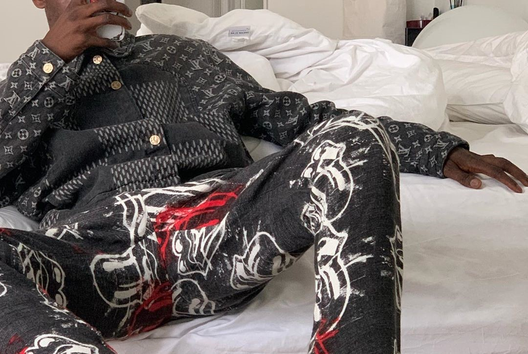 SPOTTED: ASAP Nast Rocks Latest Louis Vuitton X Nigo Collaboration