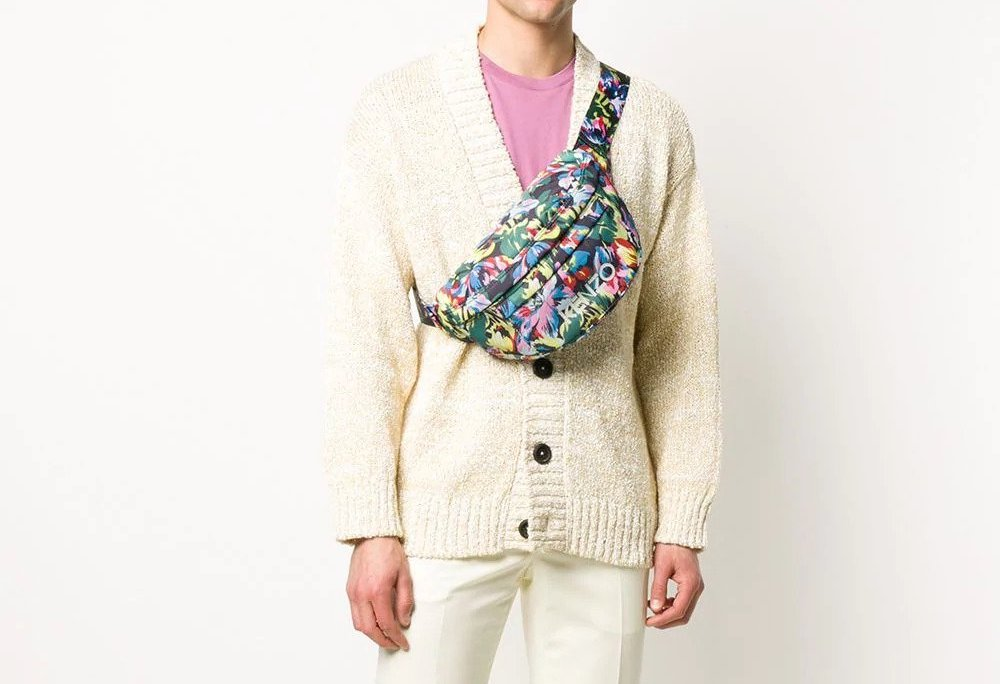 PAUSE or Skip: Kenzo x Vans Floral Belt Bag