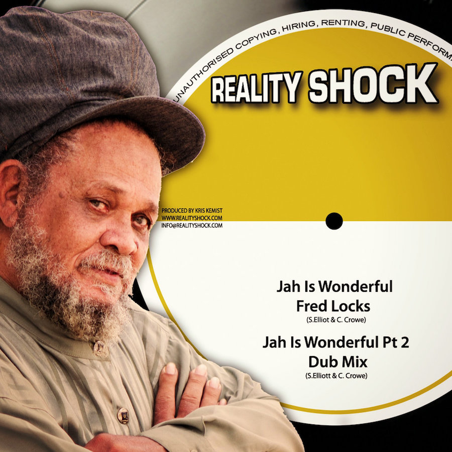 "Fred Locks - Jah Is Wonderful 10"" Vinyl"