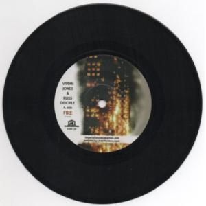 """Vivian Jones Fire 7"""" vinyl"""
