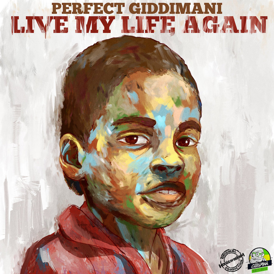 Perfect Giddimani Live My Life Again CD