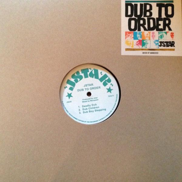 JStar Dub To Order 12 vinyl