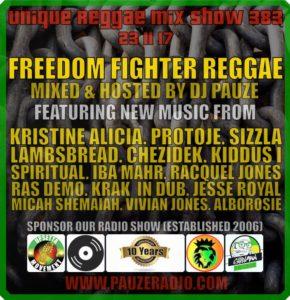 Freedom Fighter Reggae 2017