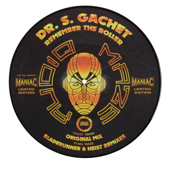 """Remember The Roller Ltd Edition Picture Disc 12"""" Vinyl"""