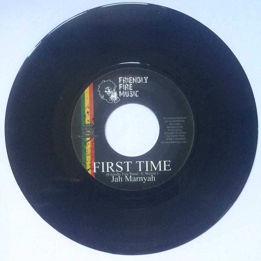"Jah Marnyah First Time 7"" vinyl"