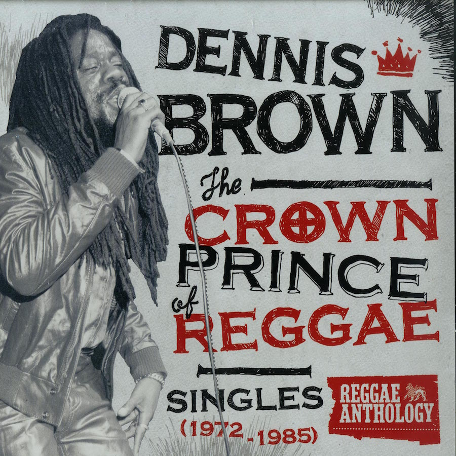 "Dennis Brown The Crown Prince Of Reggae 12"" vinyl"