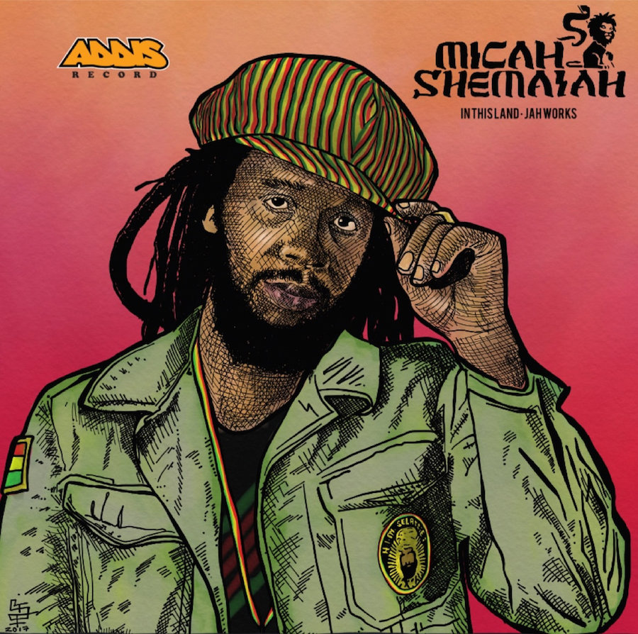 """Micah Shemaiah In This Land 10"""" vinyl"""