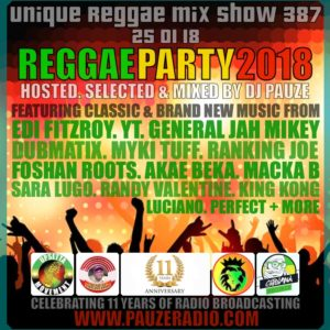 Reggae Party Selection 2018