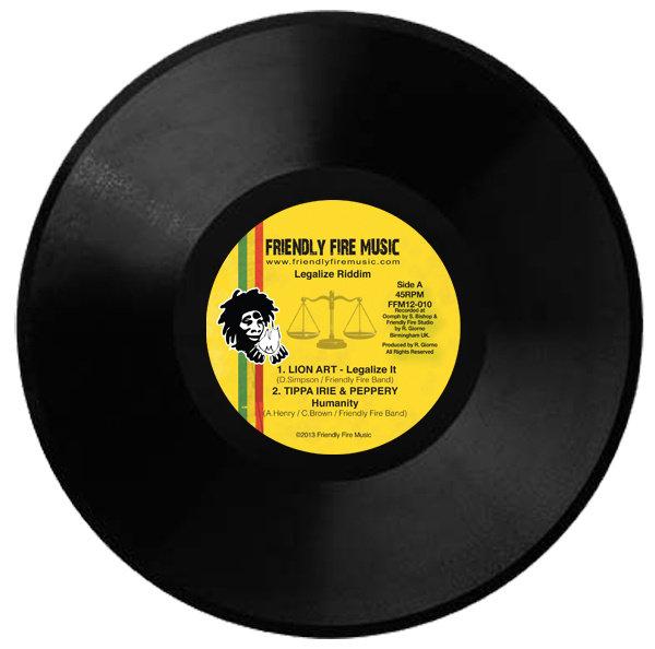 "Legalize Riddim 12"" vinyl"