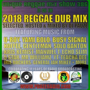 2018 Reggae Dub Mix