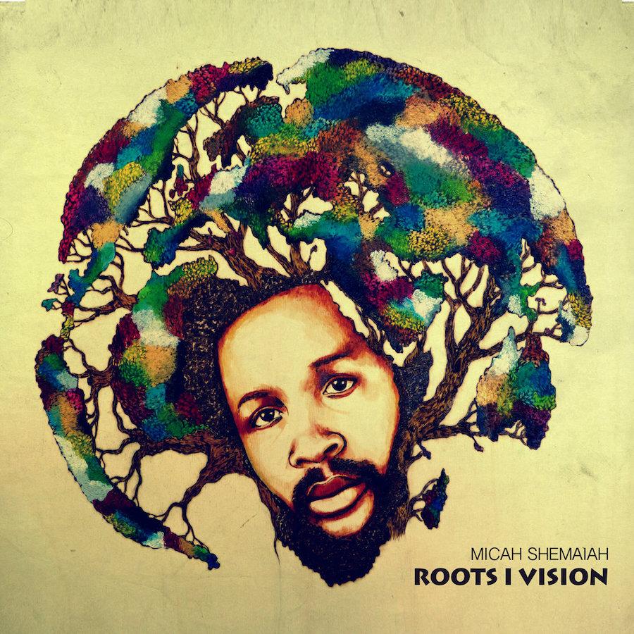 Micah Shemaiah Roots I Vision 12 vinyl lp