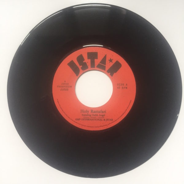 Dark Angel Holy Rastafari 7 vinyl
