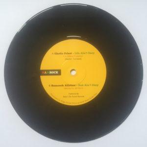 Ghetto Priest Life Aint Easy 7 vinyl