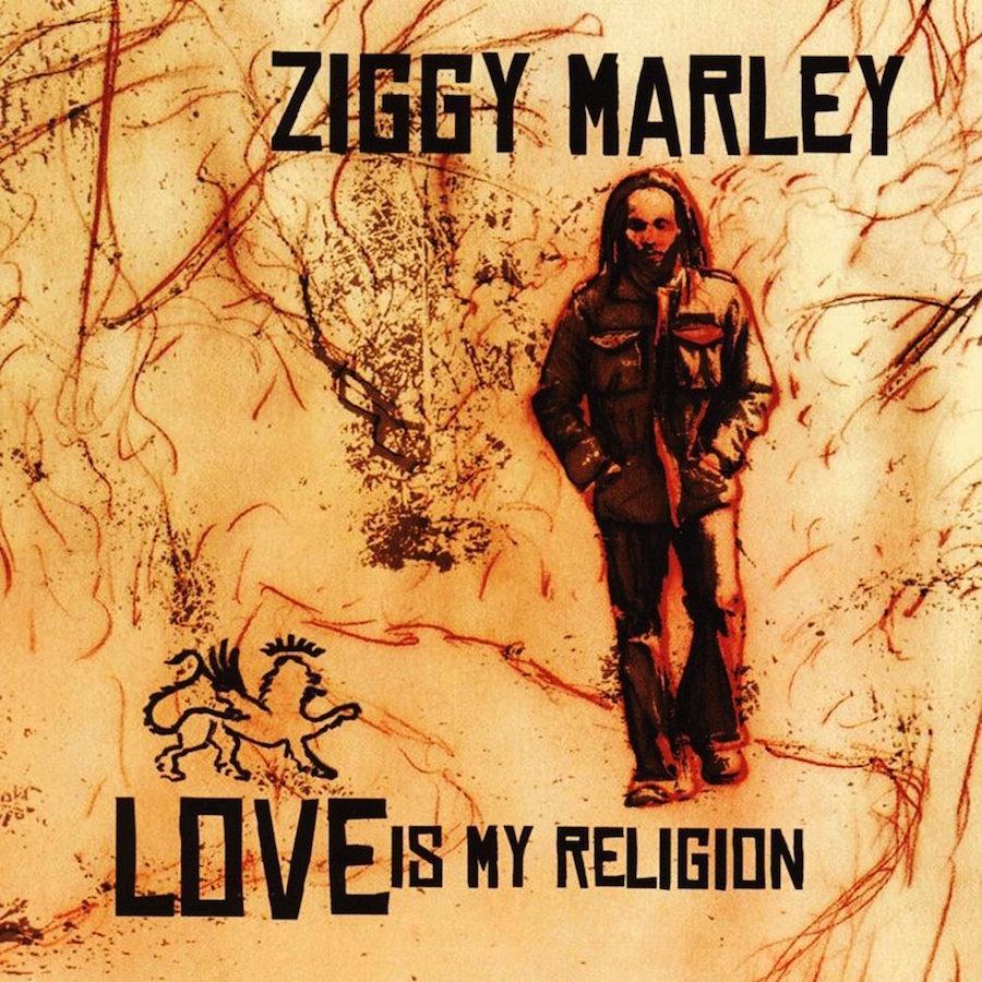 Ziggy Marley Love Is My Religion 12 vinyl lp