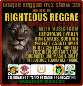 Righteous Reggae 2018