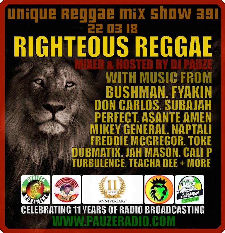 Righteous Reggae 2018