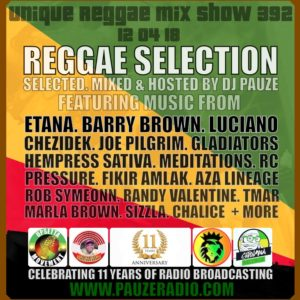 2018 Reggae Selection