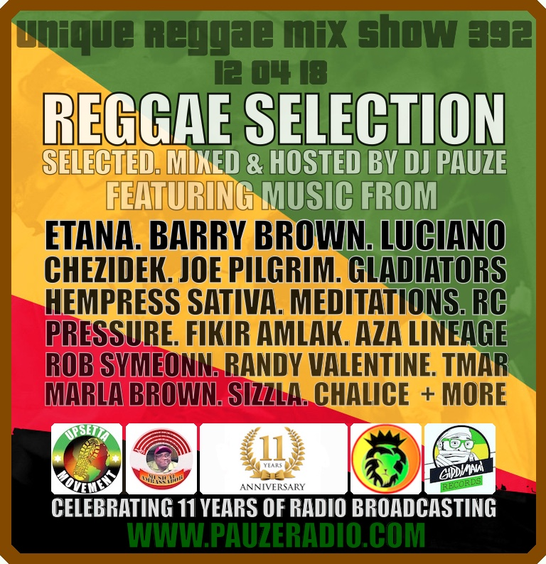 2018 Reggae Selection