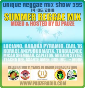 Summer Reggae Mix 2018