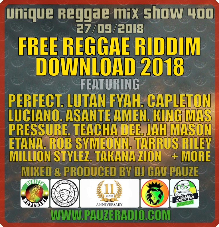 Free Reggae Riddim Download 2018