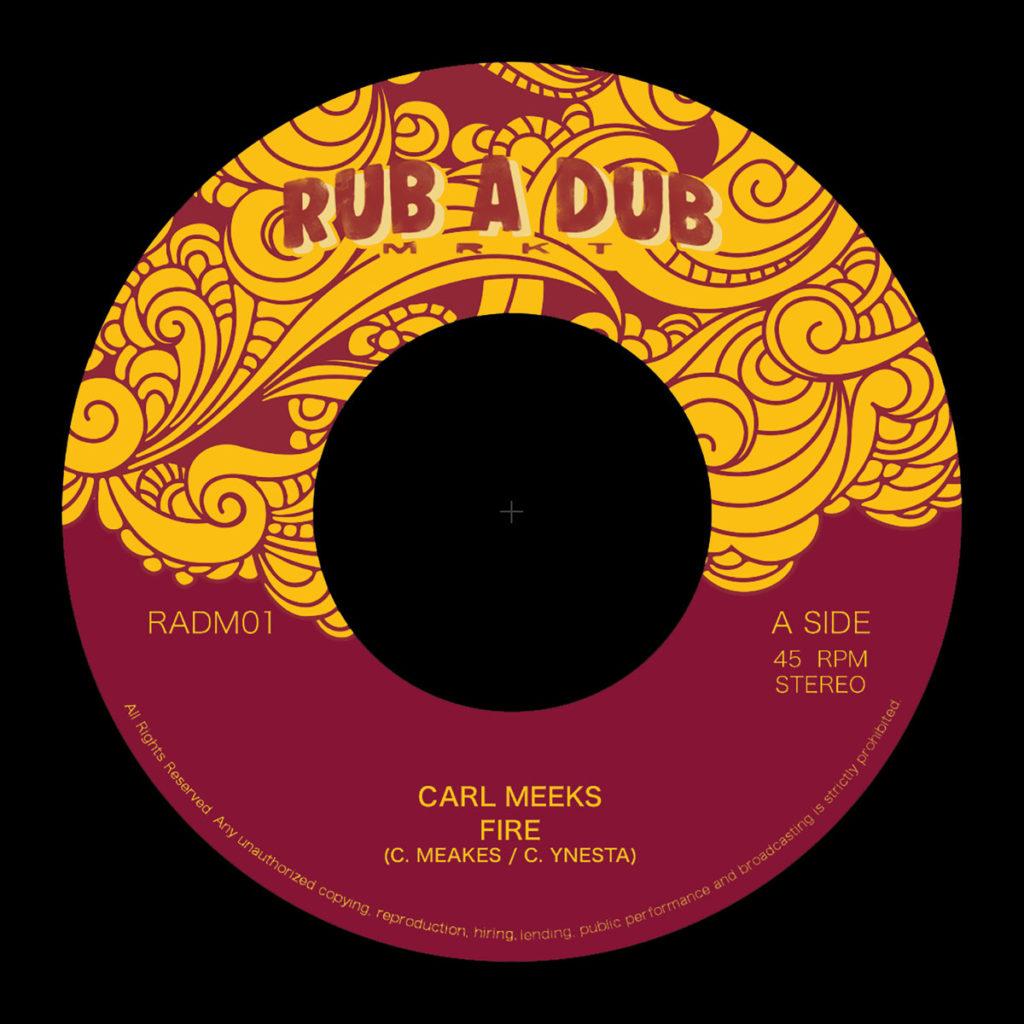 Carl Meeks - Fire 7 vinyl