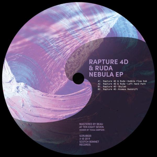 Rapture 4D Ruda Nebula EP 12 vinyl