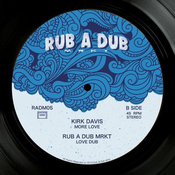 Kirk Davis More Love 12 vinyl