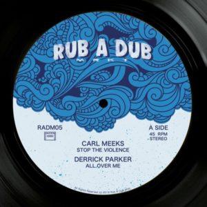 Carl Meeks Stop The Violence 12 vinyl