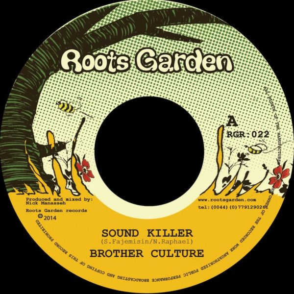 Brother Culture Sound Killer 7 vinyl