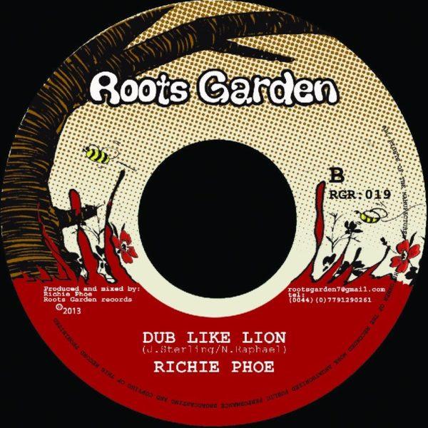 Richie Phoe Dub Like Lion 7 vinyl