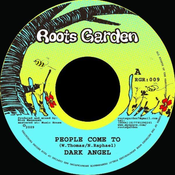 Dark Angel People Come To 7 vinyl