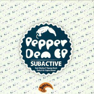 Subactive Pepper Dem 12 vinyl EP