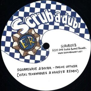 Squarewave Police Officer 12 vinyl