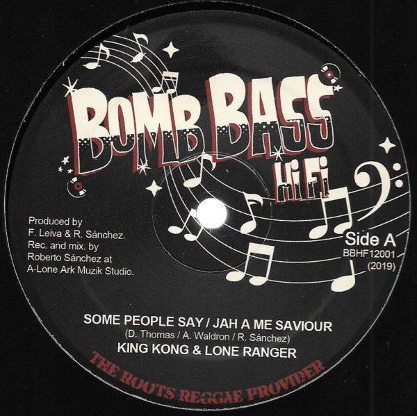 King Kong Some People Say 12 vinyl