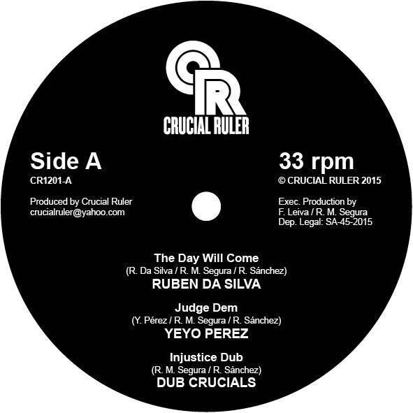 Ruben Da Silva The Day Will Come 12 vinyl