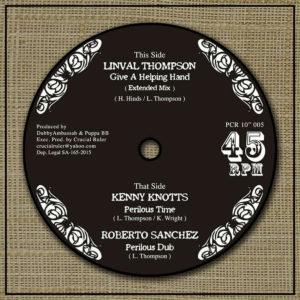 Kenny Knotts Perilous Time 10 vinyl