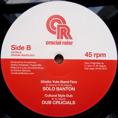 Solo Banton Ghetto Yute Stand Firm 10 vinyl
