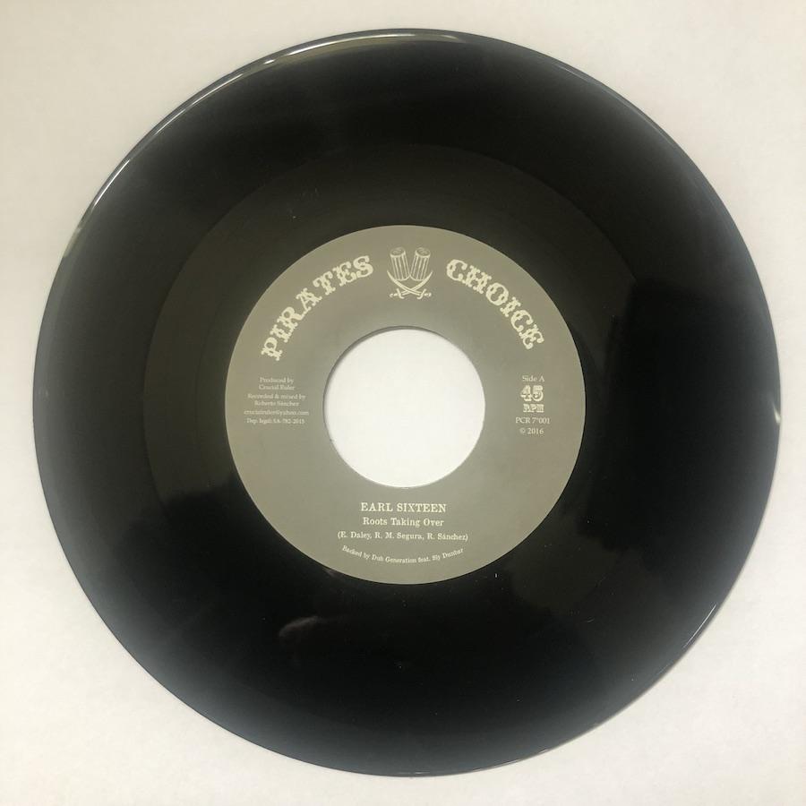 Earl Sixteen Roots Taking Over 7 vinyl