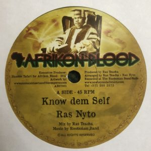 Ras Nyto Know Dem Self 7 vinyl