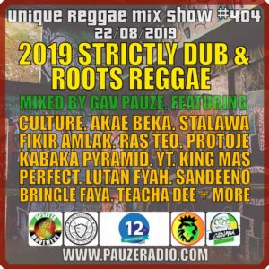 2019 Strictly Dub Roots Reggae