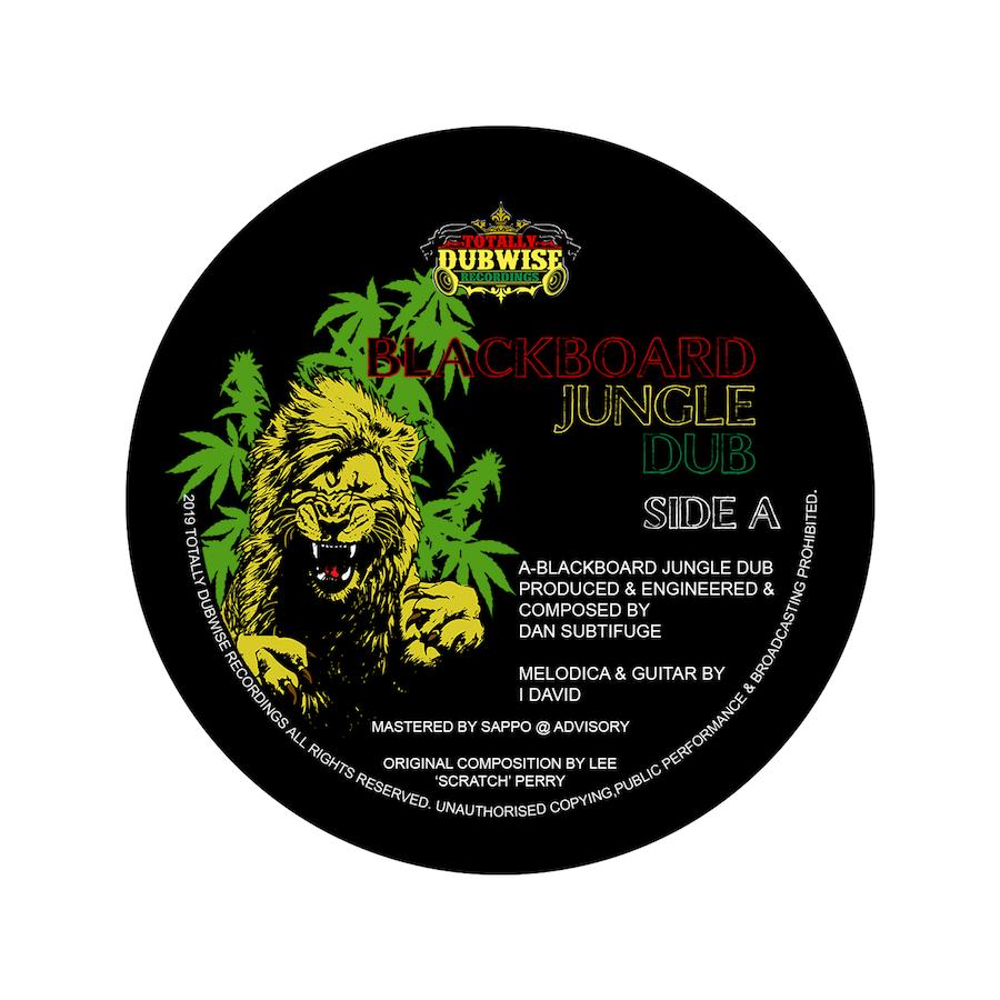 Subtifuge ft I David Blackboard Jungle 7 Vinyl