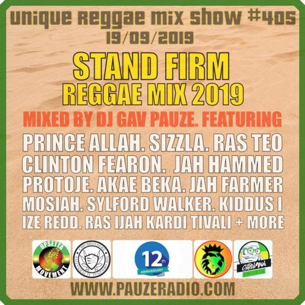 Stand Firm Reggae Mix 2019